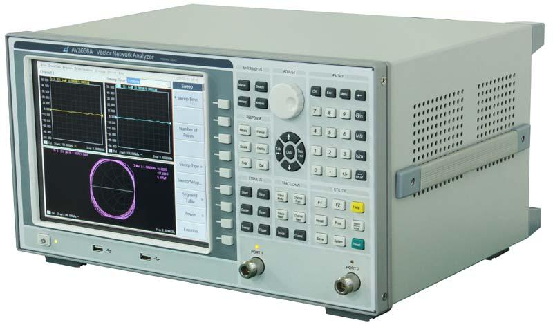 移动通信产品生产测试   av3656a矢量网络分析仪频段范围能够满足